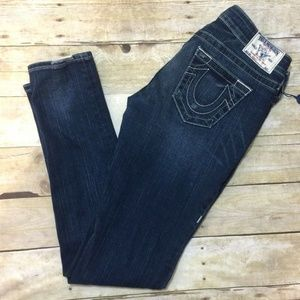 New w/o TagsTrue Religion Dark Wash Skinny 28 X 31